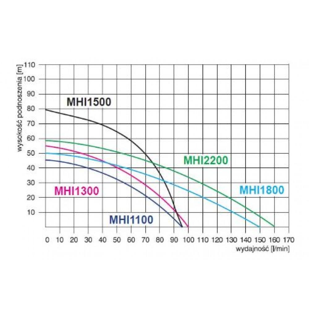 Насосная станция Omnigena MH 1100 и бак 24 литра
