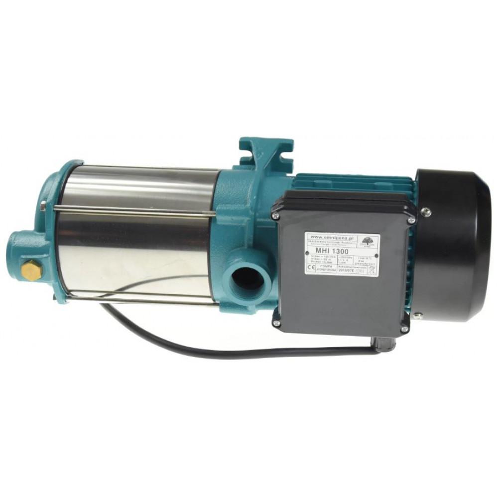 Поверхностный насос Omnigena MHI 1300 INOX, 380 Вольт